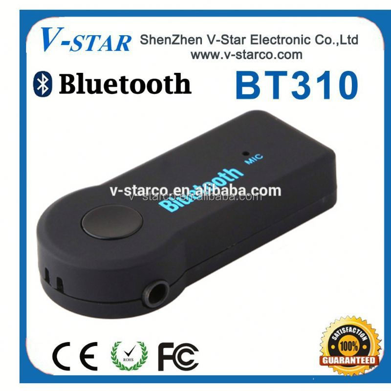 Wireless Bluetooth Car Kit with Handfrees, Supports aptX Bluetooth Headset and Speaker Phone