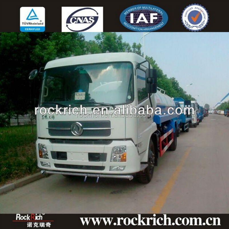High quality water truck 10000L to 25000L for water cart,landscaping
