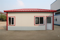 steel luxury prefabricated low cost and quick build prefab house