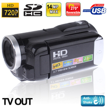 Professional HD 1280x720P Digital Video Camera with Sound Camera and speaker