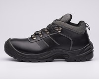 Cleanroom steel toe shoes work boots low price steel toe rubber safety footwear