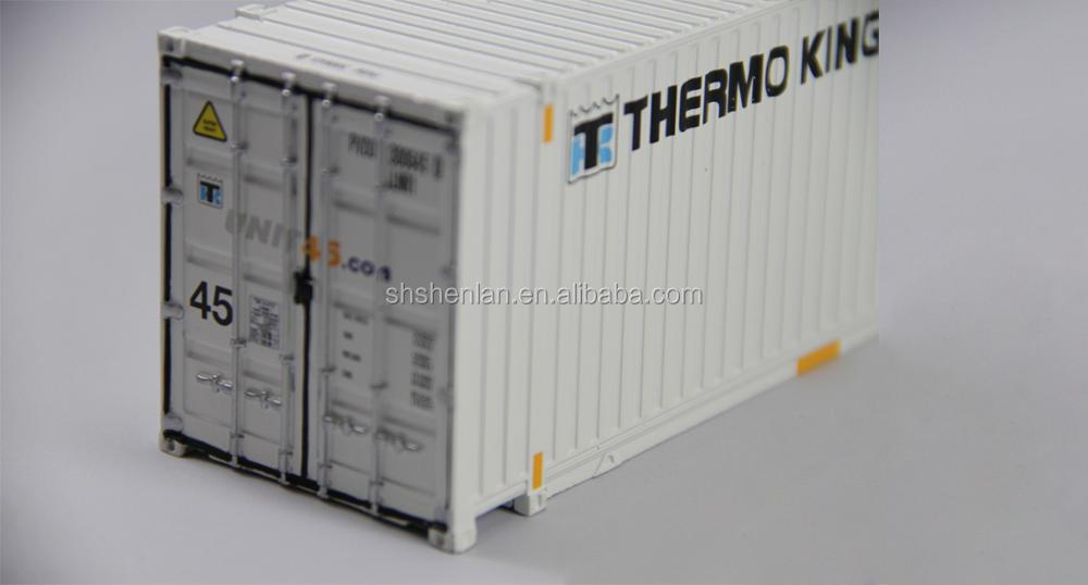 container model 40 feet 1:50 reefer die cast model