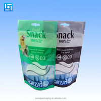 Custom plastic flexile packaging puppy food bag