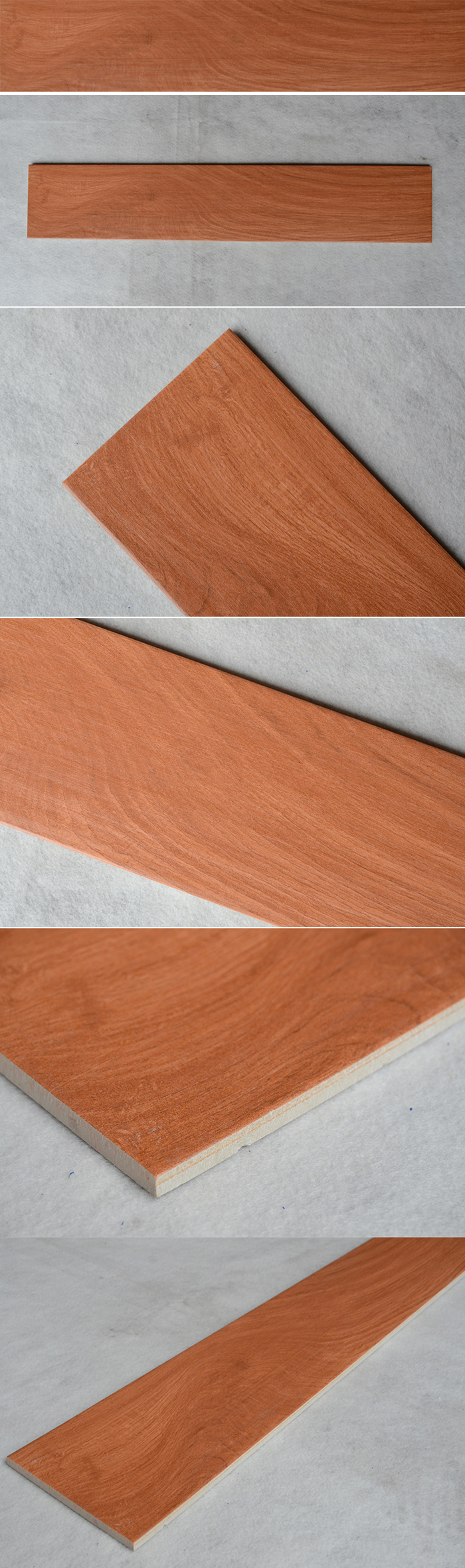 HJ15802M wood texture wood grain vitrified wood finish porcelain tile