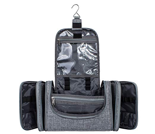 BSCI OEM Factory Custom <strong>Travel</strong> Carry On Cosmetic Makeup Ktt Hanging Toiletry Bag