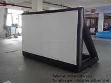 PK indoor playground PVC tarpaulin giant inflatable projection screen