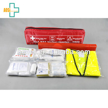 Auto Emergency Survival Gear Kit For Accident First Aid