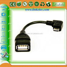 Micro USB to USB Female Host OTG Adapter Cable for Samsung Galaxy S2 S3 S4 Note2
