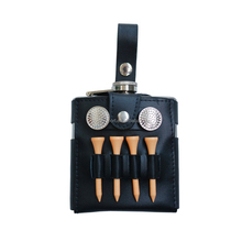 Golf Hip Flask Gift Set