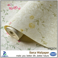 Eco-friendly vinyl removable wall and deco wallpaper
