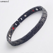 New Design infrared ion good magnet germanium energy health bangle bracelet with 4 in 1 bio
