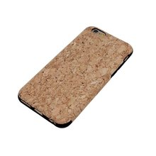 Boshiho Natural Customized Design Eco-friendly Wood Cork Mobile Phone Case For Iphone6 6s