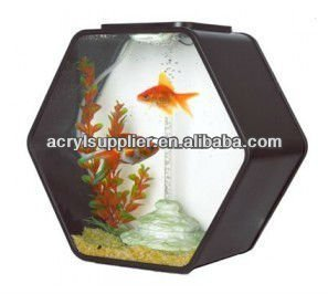 acrylic colorful fish tank