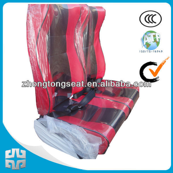 leather bus seat ZTZY3070 400mm width/auto parts /list of manufacturing company/recliner chair/