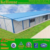 Strong and low cost EPS sandwich panel prefabricated house