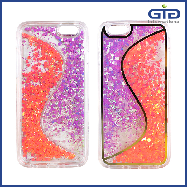 [GGIT]S Line Luxury Shinning Glitter Liquid TPU Case for iPhone 6