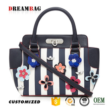 GZ Dreambag new type OEM floral applique handbags bangkok