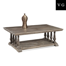 Australian antique style hotel furniture modern solid wood tea table coffee table center table