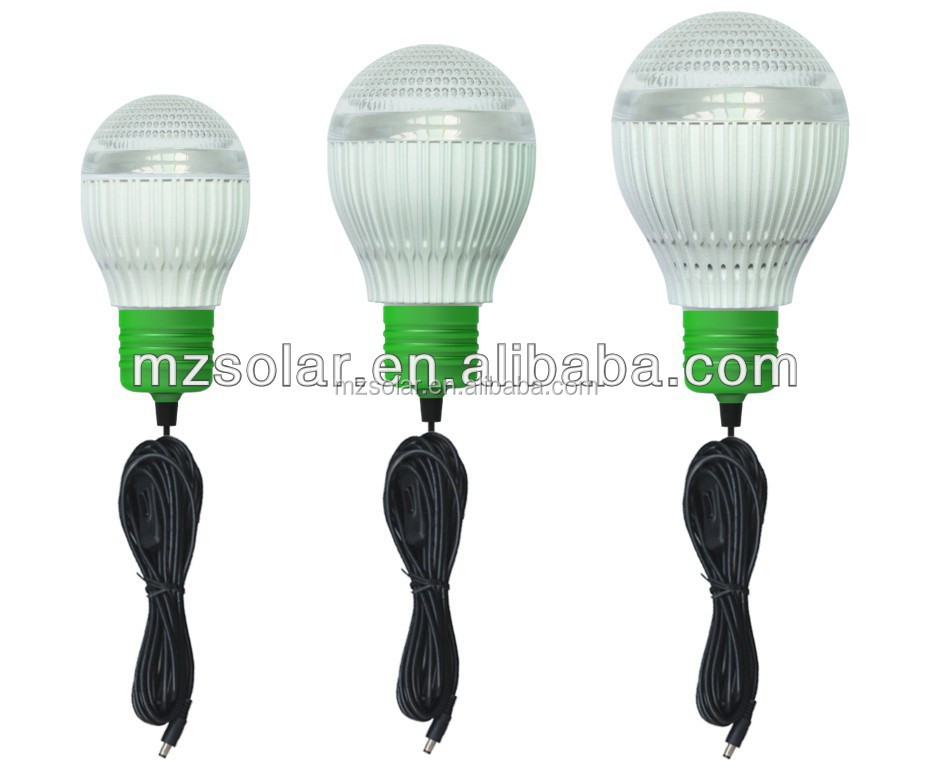 20w solar system with mobile charger and light bulb