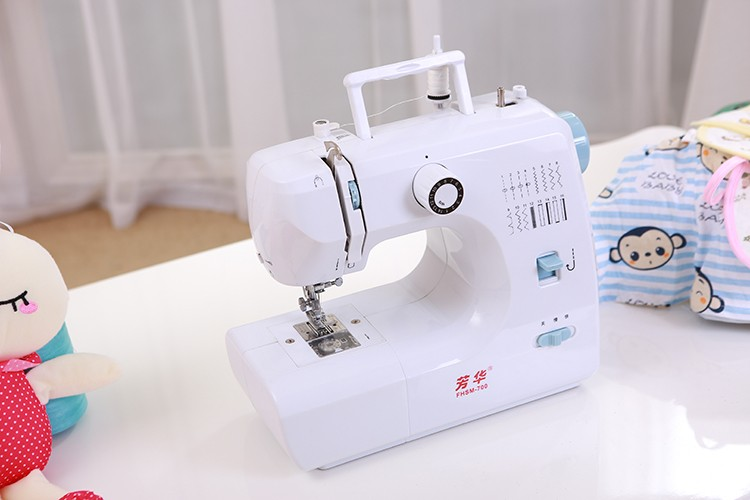 FHSM-700 overlock manual mini handheld cloth sewing machine price