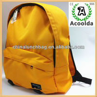 2014 Guangzhou wholesale alibaba china supplier leisure back pack canvas backpack