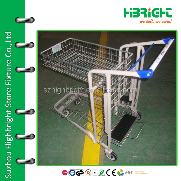 shopping trolley tool cart for construction shop