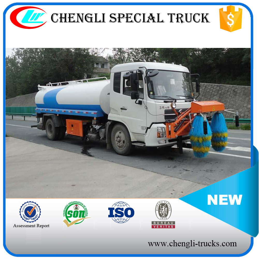 DONGFENG 4*2 170hp 8000 Liters Freeway Guardrail Cleaning Truck