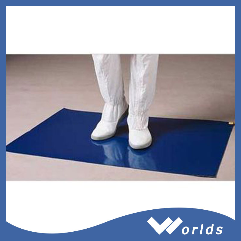 best selling clean room polyethylene sticky mat for sale