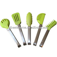Plastic salad tongs / serving tongs / salad scissor tongs