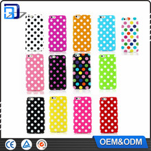 Fashionable Polka dot tpu soft case for iPhone 6S