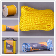 Wholesale 4mm 16 Strands Nylon Polyester Hollow Braided Rope