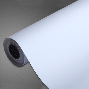 size 0.92m*48m pvc self adhesive white static cling window film