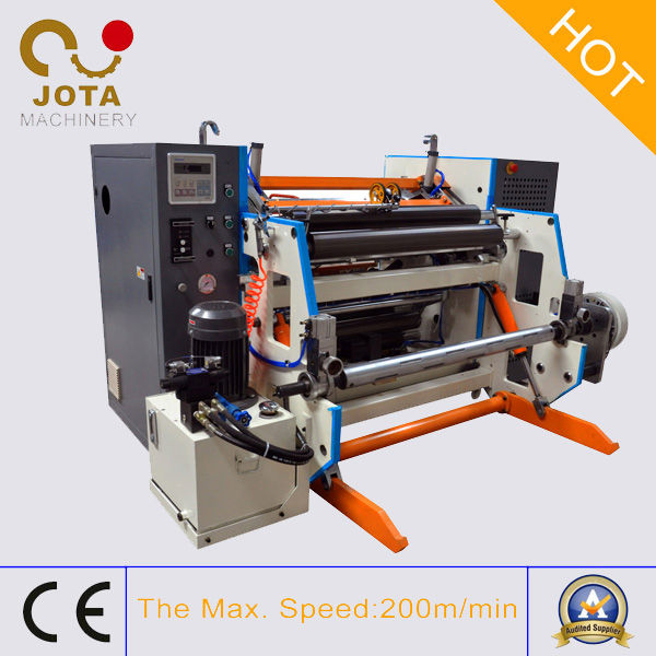 Hydraulic Loading Queuing Tickets Roll Slitting and Cutting Machine Manufacture