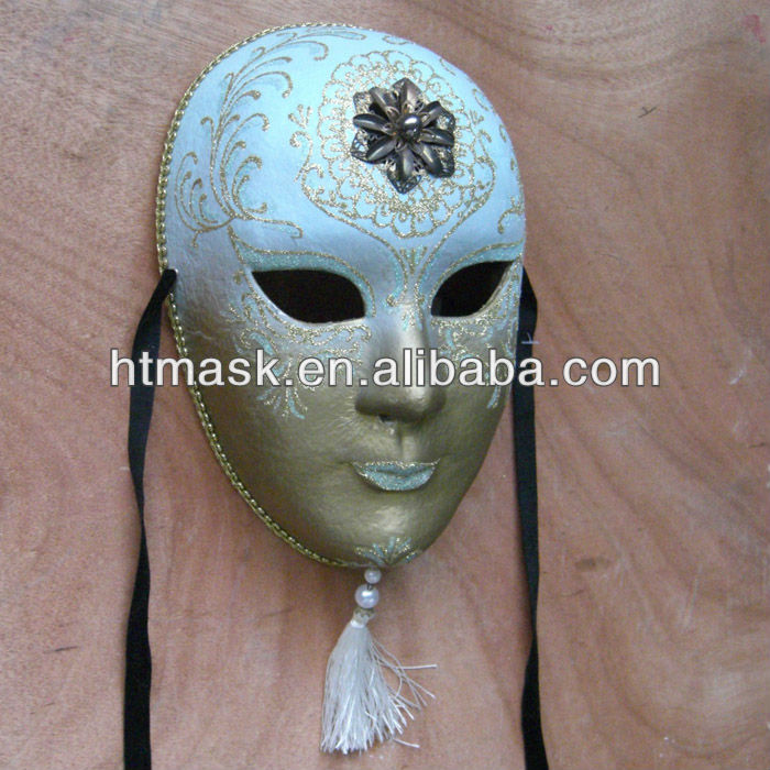 Mardi Gras Hand Painted Masks For Female Masks