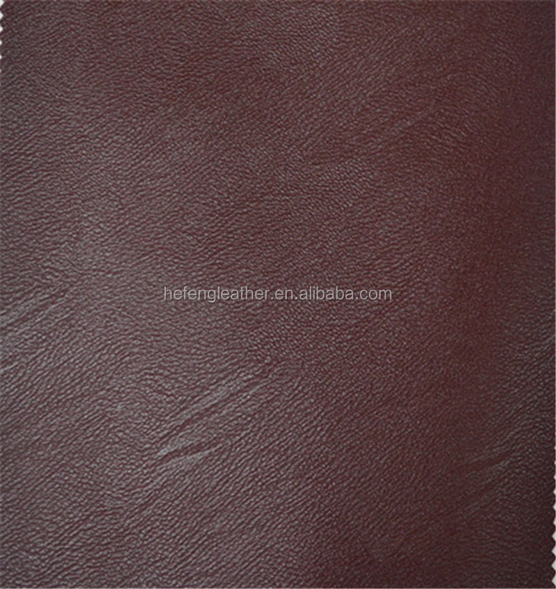 Hefeng Leather Composite Ecological Brush Backing Leather for Sofa and Car