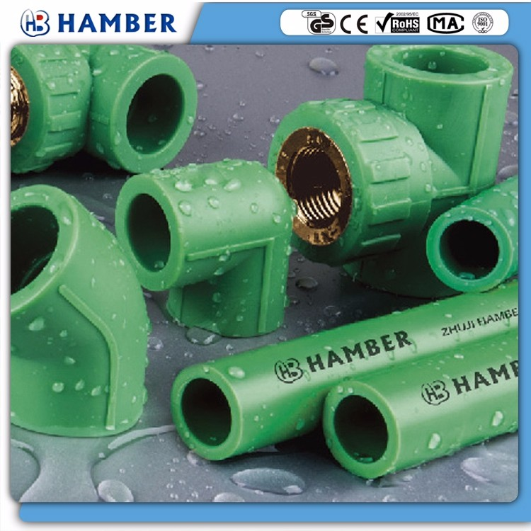 wholesale ppr pipe 110mm white pn20 green plastic ppr pipes all type of ppr pipes