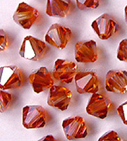 hot seller crystal bicone bead