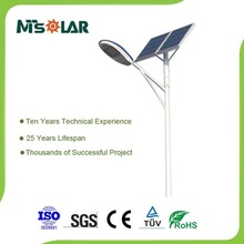 New product factory price portable 10W street LED solar light design outdoor solar street light
