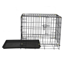 Outdoor heated modular metal dog kennel factory direct wholesale / pet kennel for dogs