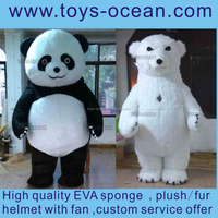custom made bear cartoon mascot costume for adult /cartoon character mascot costumes