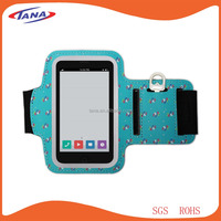 Sportswear elastic neoprene sport armband for iphone