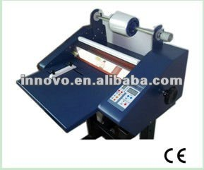 ZX-G 380(prevent silicone oil) Auto / Electric hot&cold multi-function coater/laminator