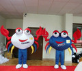Hola crab mascot costume for sale/cheap crab mascot costumes