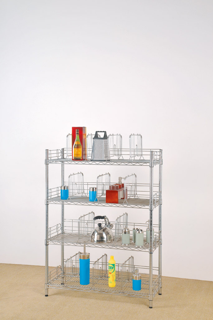 Movable and mobile bathroom shampoo rack storage rack