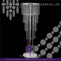 Hot popular stylish crystal chandelier wedding cake stand