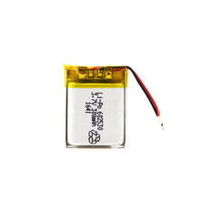 Customized 3.7V 300mAh 602530 Rechargeable Battery
