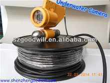 Security Color CCD 20m/30m/40m/60m/100m/200m deep underwater fishing camera