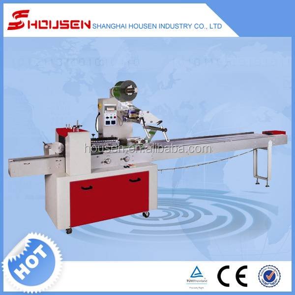 HSH 320S high quality Multi-Function lowest price sponge cake packaging machine