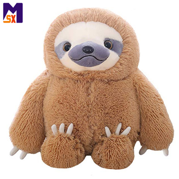 Custom soft toy stuffed animal plush sloth