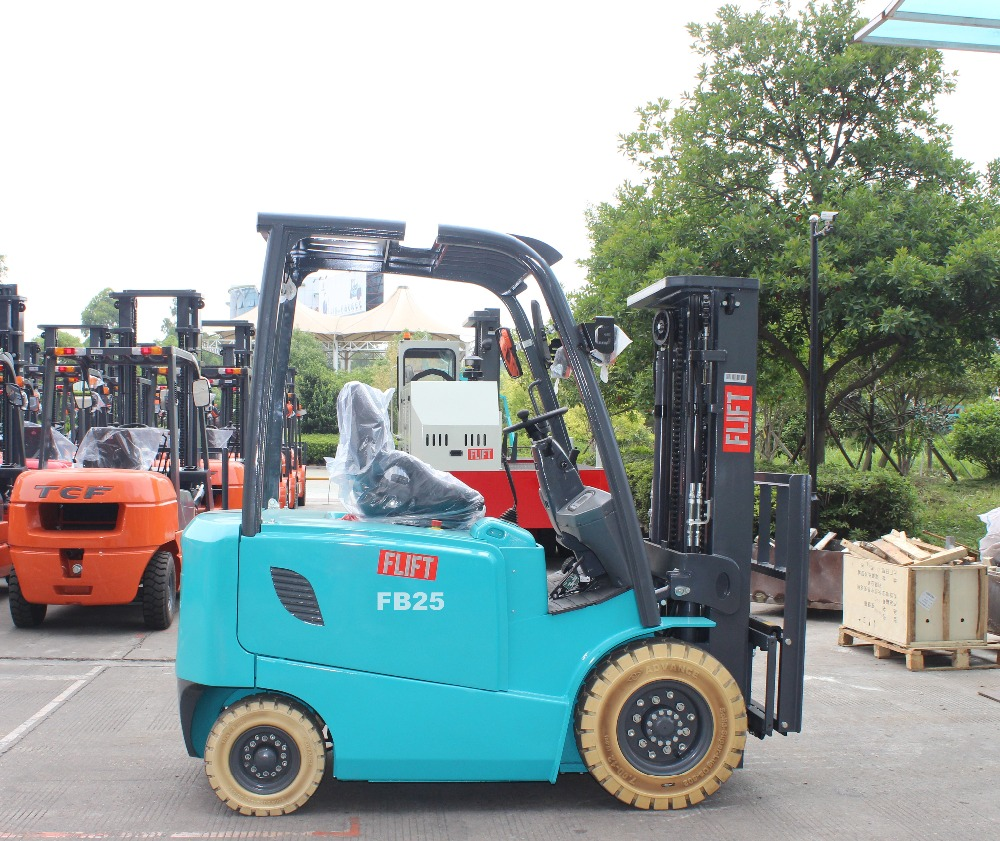 four wheels 2 ton battery forklift electric forklift electrical curtis controller